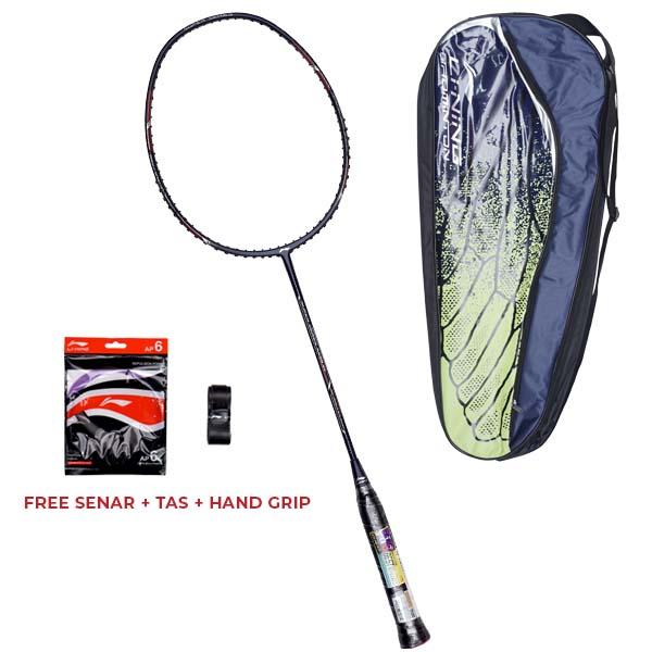 Raket Badminton Li-Ning SS 99 ACE - Navy/Red