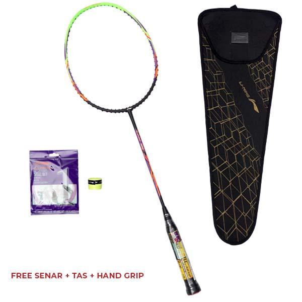 Raket Badminton Li-Ning Turbo 99 - Black/Green