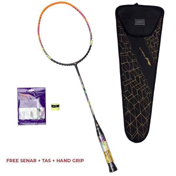 Raket Badminton Li-Ning Turbo 99 - Black/Orange