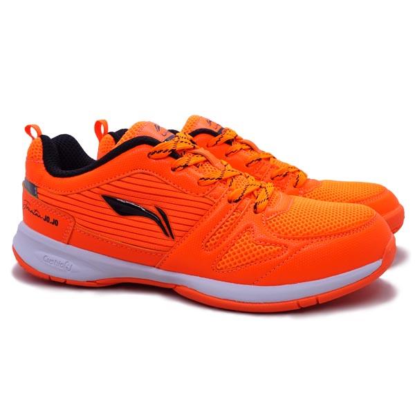 Sepatu Badminton Li-Ning Attack G8 AYTR030-3 - Orange