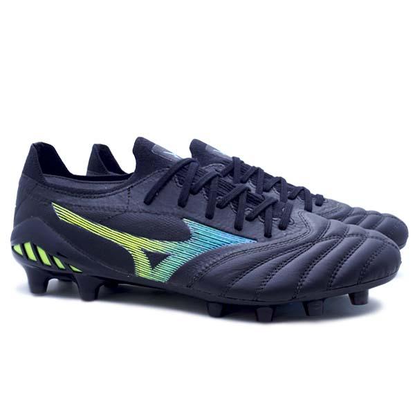 Sepatu Bola Mizuno Morelia Neo III B Elite - Black/Blue