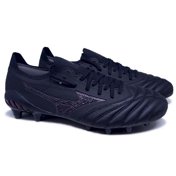 Sepatu Bola Mizuno Morelia Neo III B Elite - Black/Tawny Port/Black