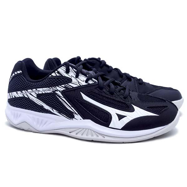 Sepatu Volley Mizuno Thunder Blade 3 V1GA217002 - Black/White/Ebony