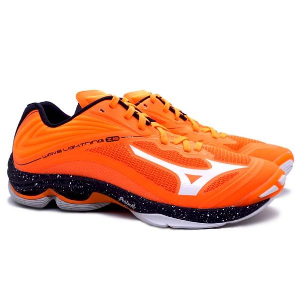 Sepatu Volley Mizuno Wave Lightning Z6 - Orange Clown