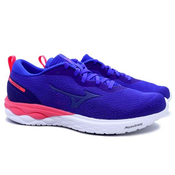 Sepatu Running Mizuno Wave Revolt - Reflex Blue/Reflex Blue