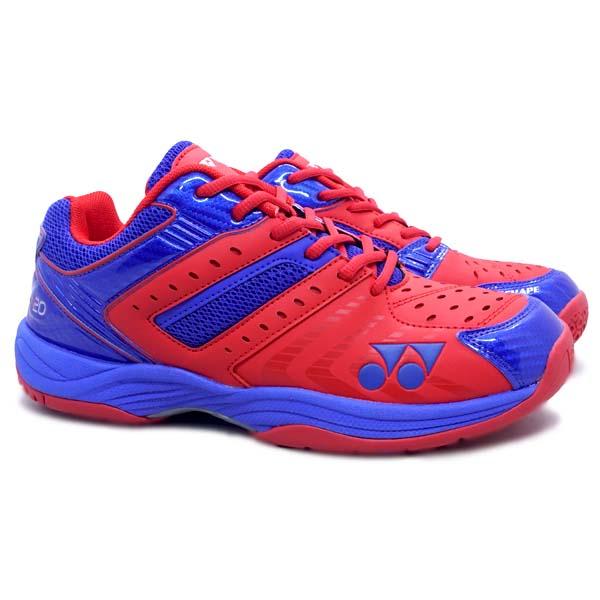 Sepatu Badminton Yonex AE 20 - Neon Coral/Clemetis Blue