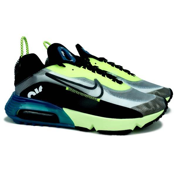 Sepatu Casual Nike Air Max 2090 - White/Black Volt