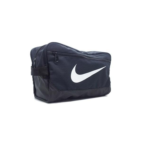 Tas Nike Brasilia Shoe 9.0 11L - Black/Black/White