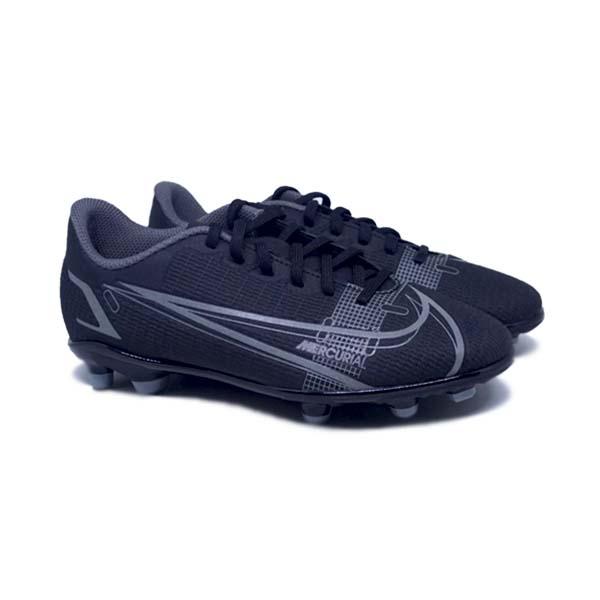 Sepatu Bola Anak Nike JR Vapor 14 Club FG CV0823 004 - Black/Black/Iron Grey