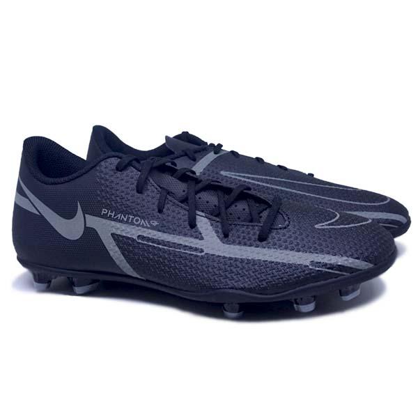 Sepatu Bola Nike Phantom GT2 Club FG DA5640 004 - Black/Iron Grey