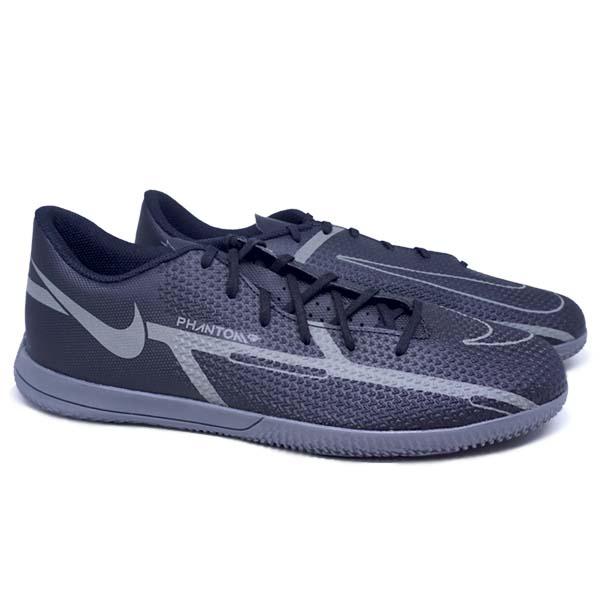 Sepatu Futsal Nike Phantom GT2 Club IC DC0829 004 - Black/Iron Grey