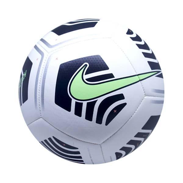 Bola Sepak Nike Pitch - White/Black/Lime Glow