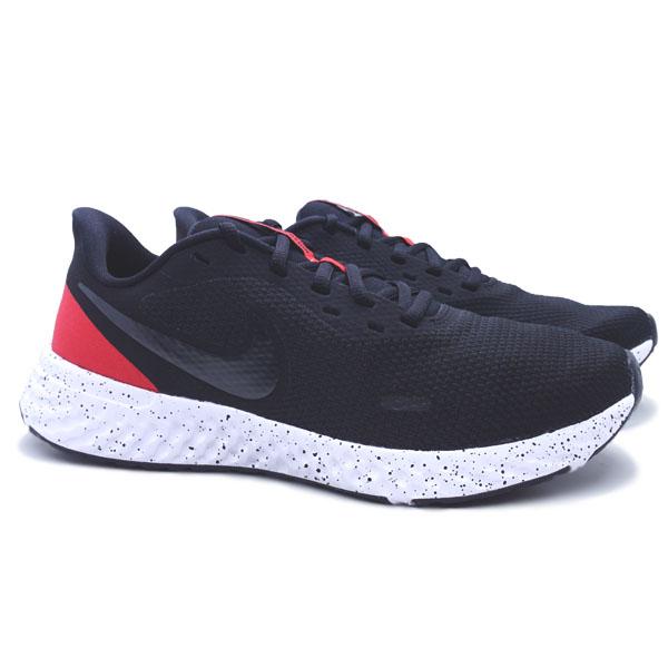 Sepatu Running Nike Revolution 5 BQ3204 003 - Black/Anthracite