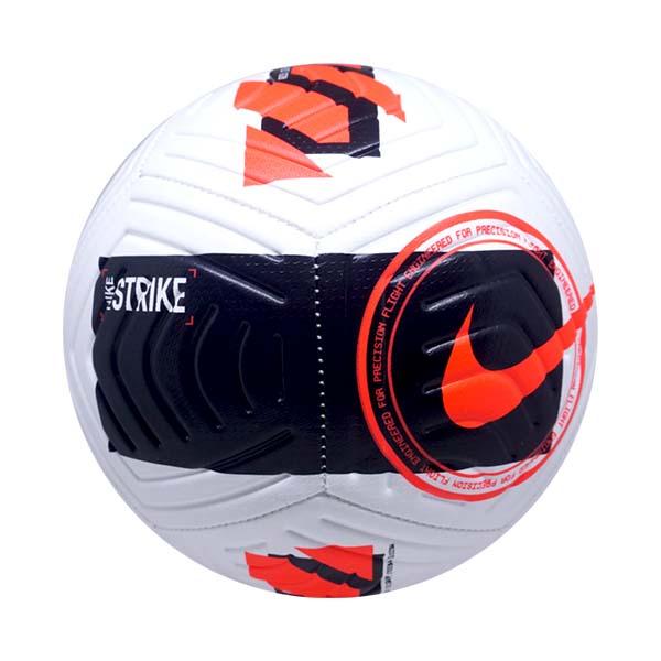 Bola Sepak Nike Strike FA21 DC2376-101 - White/Black/Bright Crimson