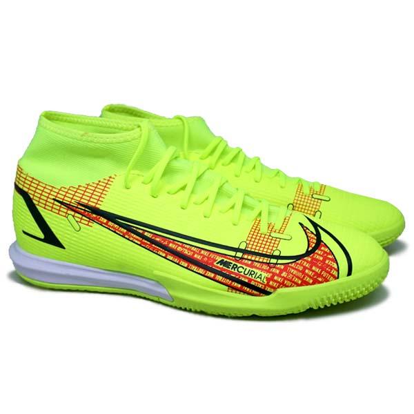 Sepatu Futsal Nike Superfly 8 Academy IC CV0847 760 - Volt/Black/Bright Crimson