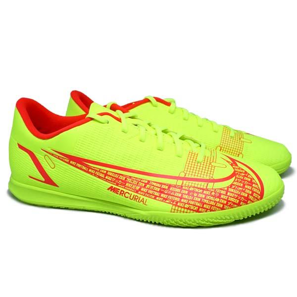 Sepatu Futsal Nike Vapor 14 Club IC CV0980 760 - Volt/Bright Crimson