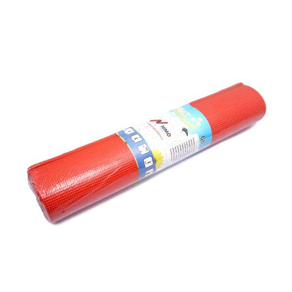 Matras Nimo Yoga Mat PVC 68x24 8mm - Red