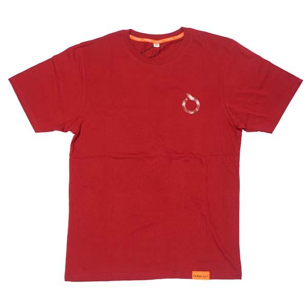 Kaos Ortuseight Basic T-Shirt - Maroon