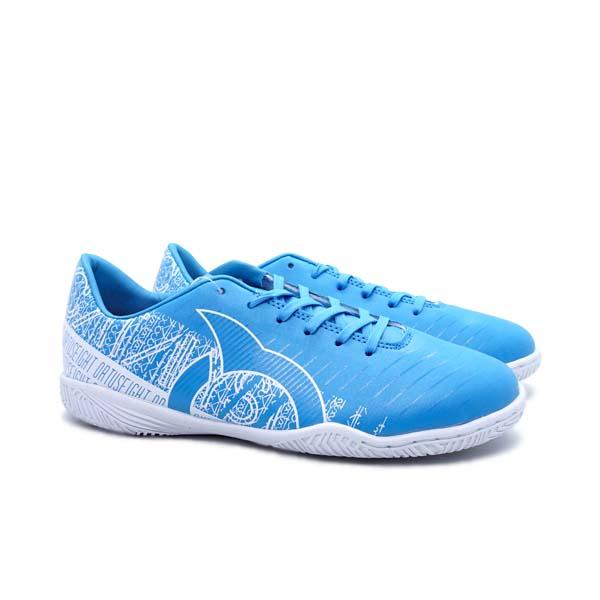 Sepatu Futsal Anak Ortuseight Catalyst Cypher IN JR - Pale Cyan/White