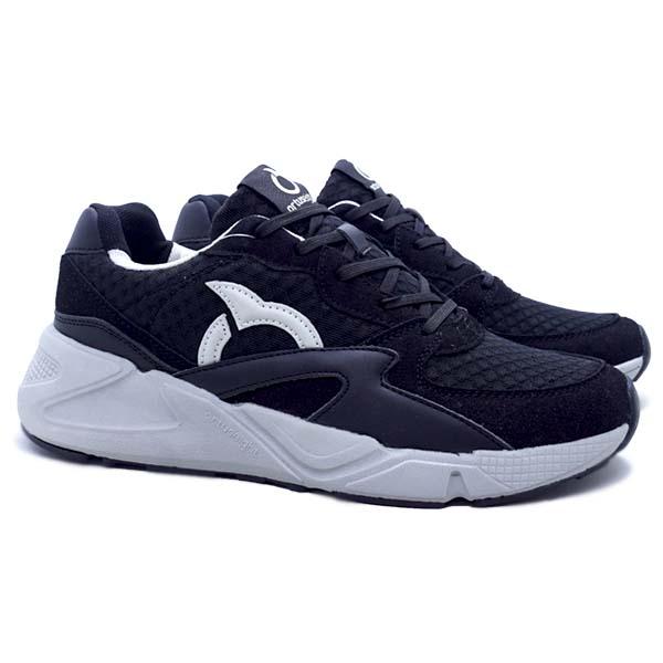 Sepatu Casual Ortuseight Centauri - Black/Off White
