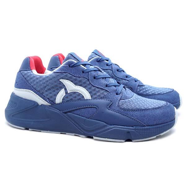 Sepatu Casual Ortuseight Centauri - Midnight Blue/Grey/Ortred
