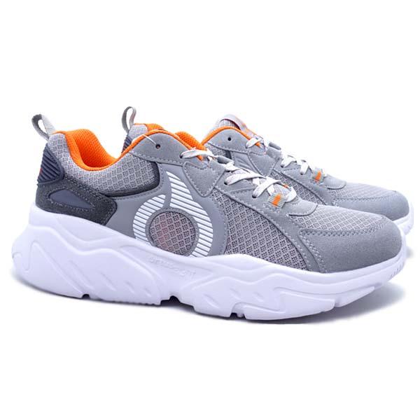 Sepatu Casual Ortuseight Craven - Gray/White/Ortrange