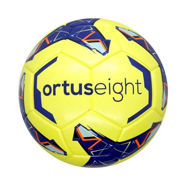 Bola Sepak Ortuseight Cyclone FB Comp Ball - White/Navy/Aqua