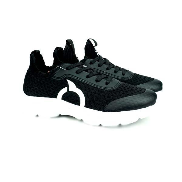 Sepatu Casual Anak Ortuseight Harvard JR - Black/White