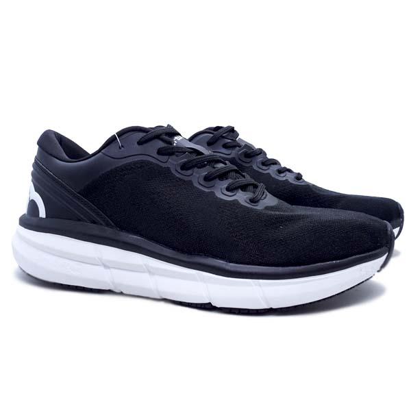 Sepatu Running Ortuseight Hyperfuse - Black/White