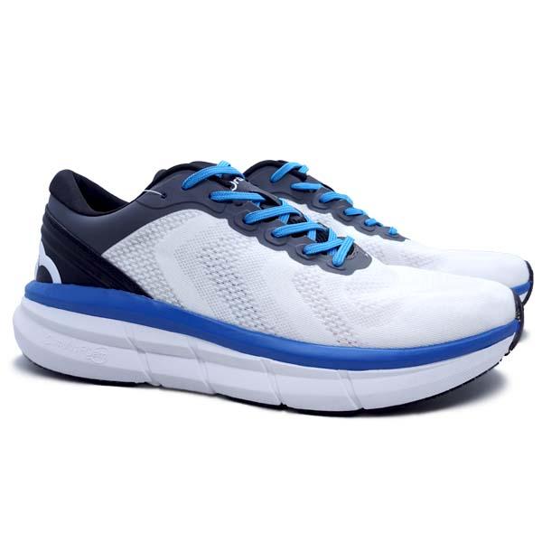 Sepatu Running Ortuseight Hyperfuse - Off White/Ocean Blue/Black