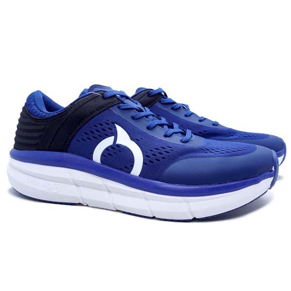 Sepatu Running Ortuseight Hyperglide - Navy/White/Black