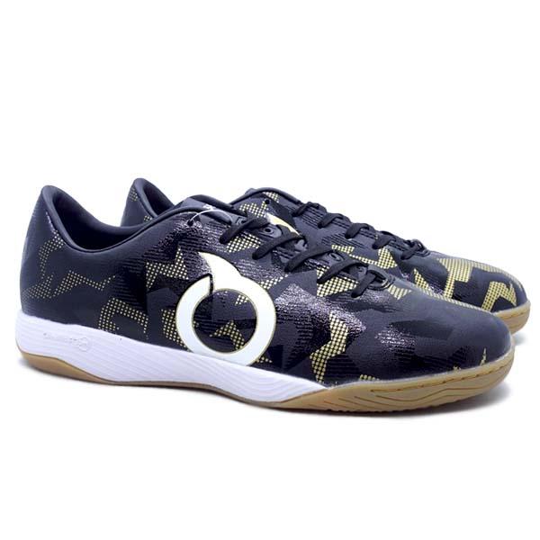 Sepatu Futsal Ortuseight Jogosala Storm Breaker - Black/Gold