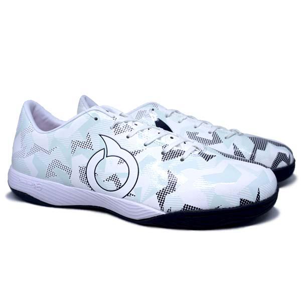 Sepatu Futsal Ortuseight Jogosala Storm Breaker - White/Black