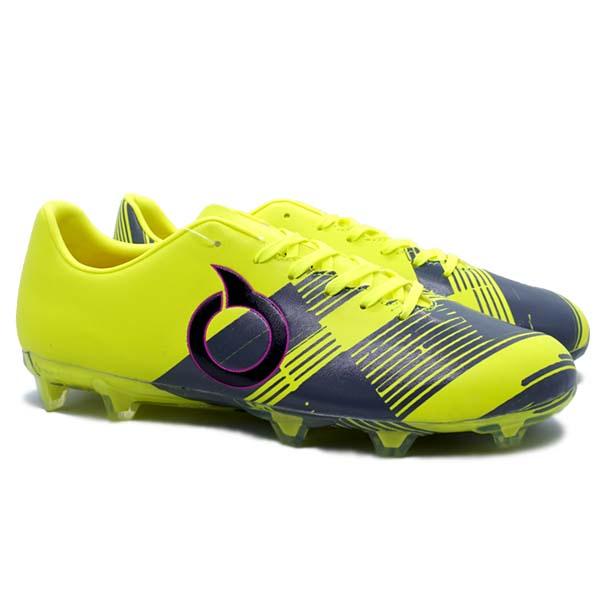 Sepatu Bola Ortuseight Libero FG - Minion Yellow/Grey/Pink