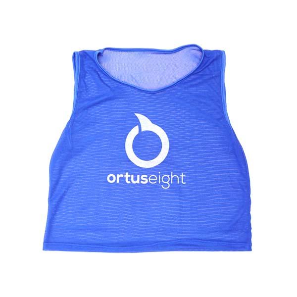 Rompi Ortuseight Training Bibs - Ocean Blue/White