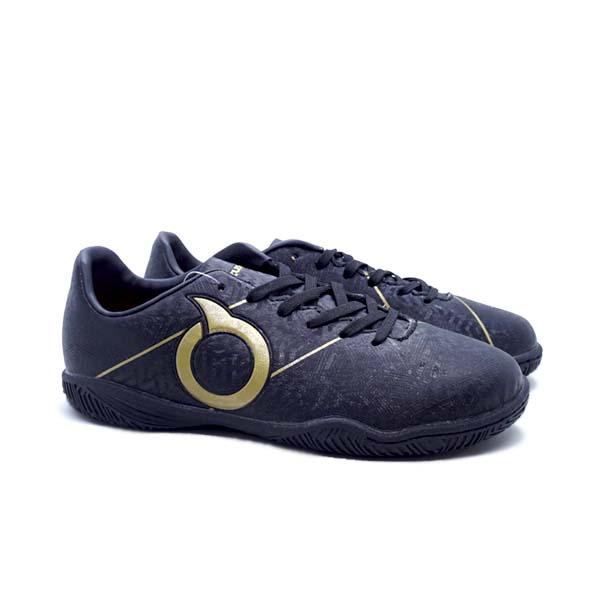 Sepatu Futsal Anak Ortuseight Sabre IN JR - Black/Gold