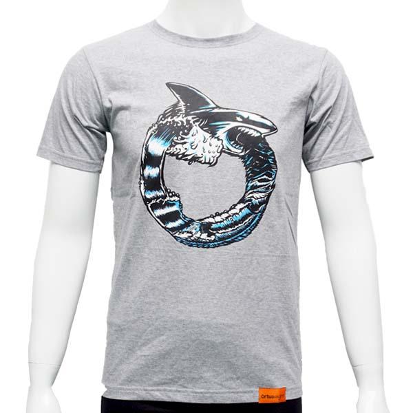 Kaos Ortuseight Shark T-Shirt - Misty