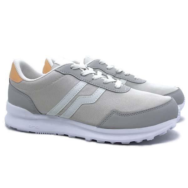 Sepatu Casual Piero City Core B.W - Peach/White