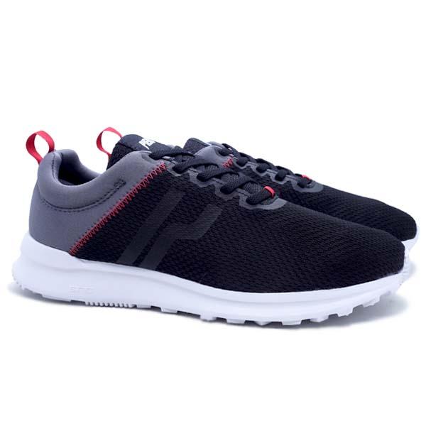 Sepatu Casual Piero City Tone - Black/Grey/White