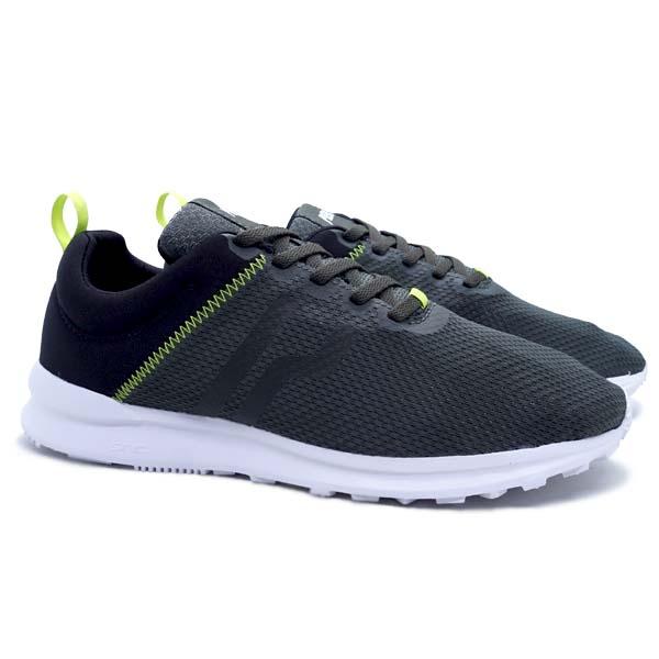 Sepatu Casual Piero City Tone - Olive/Black/White