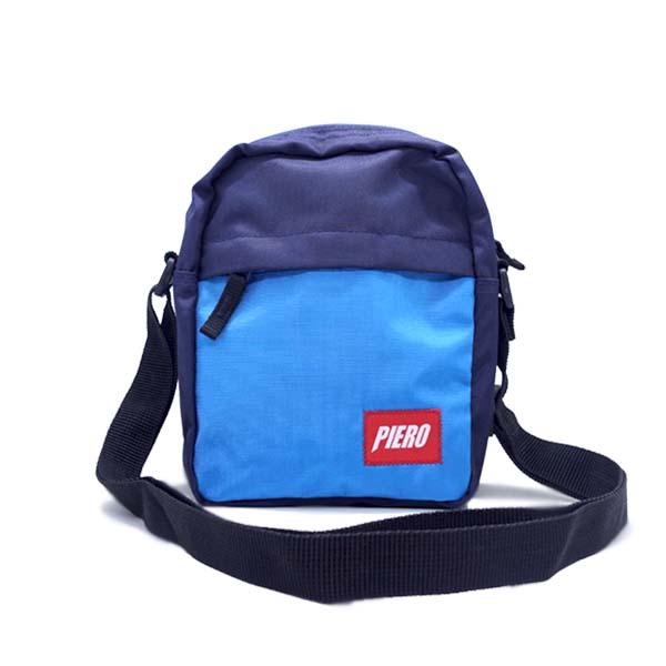 Tas Piero Ergo Sling Bag - Navy/Royal Blue