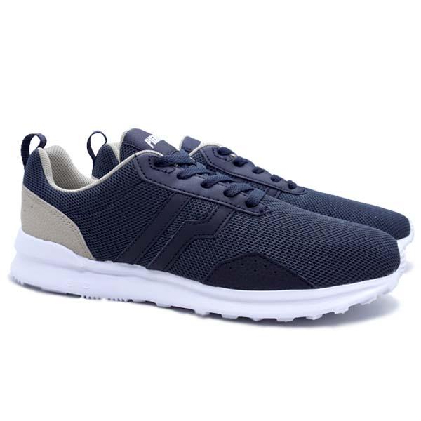 Sepatu Casual Piero Flow B - Phantom/Taupe/White
