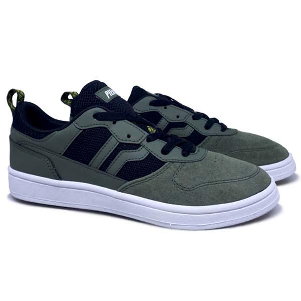 Sepatu Casual Piero Jorge - Olive/Black/White