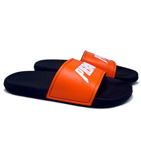 Sandal Piero Puna Rs - Orange/Black/Off White
