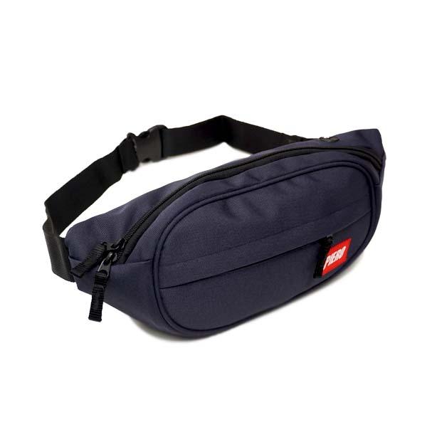 Tas Piero Round Waist Bag - Navy
