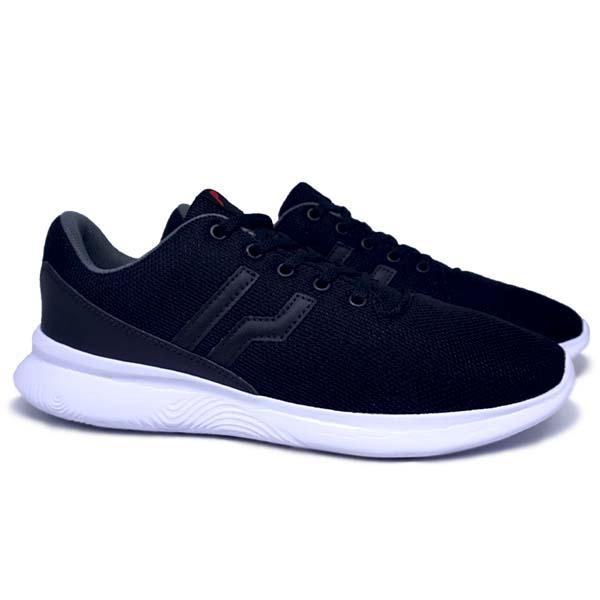 Sepatu Casual Piero VX-Wave - Black/White
