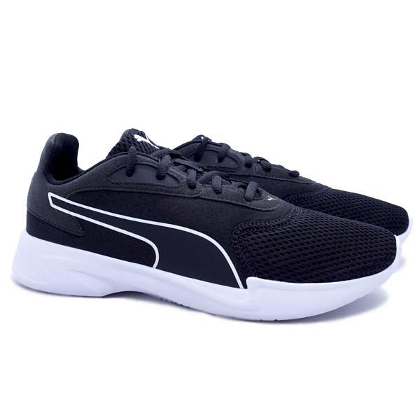 Sepatu Running Puma Jaro - Puma Black/Puma White