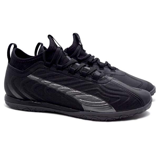 Sepatu Futsal Puma One 20.3 IT - Puma Black/Asphalt