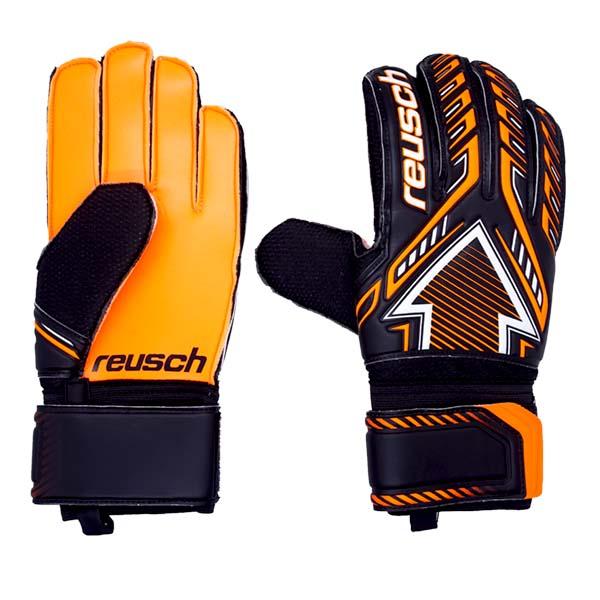 Sarung Tangan Kiper Reusch GK Gloves Arrow SD 5070595 7783 - Black/Shocking Orange