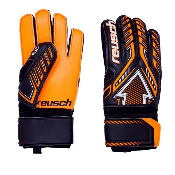 Sarung Tangan Kiper Reusch GK Gloves Arrow SD FS 5070599 7783 - Black/Shocking Orange